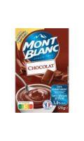 Crème dessert au chocolat Mont Blanc