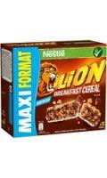 Barres de céréales caramel et chocolat LION
