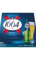 Bière blonde premium 1664