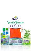 Tranches de Truite Fumée de France Ovive