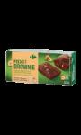 Gâteaux Brownies noisettes Carrefour