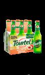 Bière sans alcool aromatisée pêche Tourtel Twist