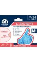 Gants l'expert nitrile taille M 7-7 1/2 ELEPHANT