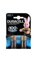 Piles Alcalines AAA DURACELL