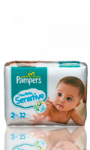 Couches Pampers New Baby sensitive T2