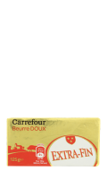 Beurre extra-fin doux Carrefour