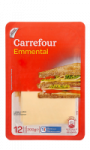 Emmental en tranches Carrefour