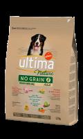 Croquettes pour chiens à la dinde Utima Nature