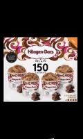Mini Pot Gelato 150 calories Chocolate Drizzle Häagen-Dazs