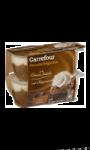 Dessert mousse liégeoise café Carrefour