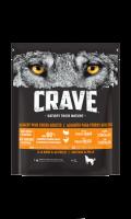 Croquettes pour chiens riches en proteines sans céréales au poulet et à la dinde Crave