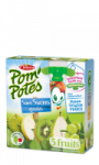 Compotes en gourde 5 fruits s/sucres ajoutés Pom'potes