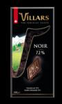 Tablette chocolat Noir 72% Villars
