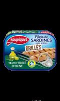 Filets de Sardines Grillés à l'Huile d'Olive Saupiquet