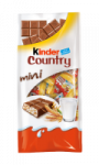 Barres chocolatées mini Kinder Country
