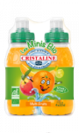 Minis Bio de Cristaline au jus multi fruits 4x20cl