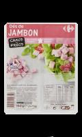 Dés de jambon Carrefour