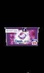 Lessive capsules 3en1 Bouquet mystère & Lenor, 25 lavages Dash