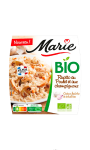 Plat cuisiné risotto au poulet & aux champignons Bio Marie