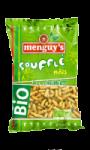 Biscuits apéritif soufflé de maïs à la cacahuète bio Menguy's