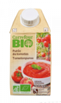 Purée de tomates Carrefour Bio