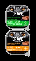 Terrine pour chien riche en protéines et sans céréales Crave™