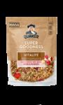 Céréales Vitalité Pommes Framboises Oats Super Goodness Quaker