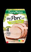 Roti de porc supérieur 4 tranches Fleury Michon