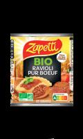 Ravioli bio pur boeuf au blé complet Zapetti