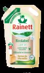 Lessive liquide concentrée au savon de Marseille authentique éco-recharge Rainett