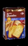 Biscottes braisées au froment Carrefour