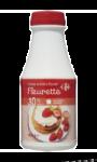 Crème fleurette 30% MG Carrefour