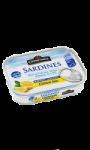 Sardines MSC marinade au citron bio sans huile -30% de sel Connétable