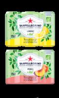 San Pellegrino Limone + Tea ou Pesca + Tea