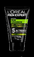 Gel Nettoyant Multi-Purifiant Pur Charbon Men Expert