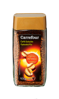 Café soluble intense Carrefour