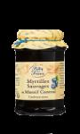 Confiture myrtilles sauvages Reflets de France