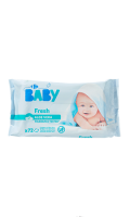 Lingettes fresh aloe vera Carrefour Baby