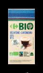 Capsules de café décaféiné x10 Carrefour...