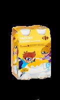 Yaourts à boire vanille 4x180g Carrefour Kids