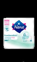 Serviette hygiènique ultra pure sensitive normal plus Nana