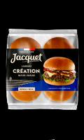 Pains burger Création Jacquet