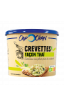 Tartinable Crevettes Façon Thaï 140g Cap Océan