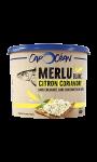 Tartinable Merlu Blanc, Citron Coriandre Cap Océan