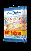 Colin d'Alaska beurre citronné prêt à poêler X2 Cap Océan