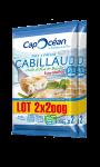 Cabillaud huile d'olive/basilic prêt à poêler x2 Cap Océan