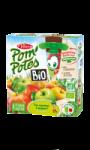 Compotes bio pomme nature sans sucres ajoutés Pom'potes