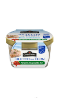 Rillettes de thon MSC piment d'Espelette BIO Connetable