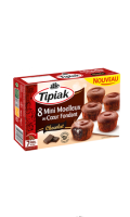 Minis moelleux au coeur fondant chocolat Tipiak