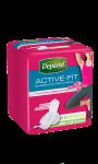 Depend Active Fit serviettes absorbantes Femme - Mini